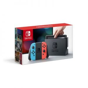 Amzn-Nintendo Switch – Neon Red and Neon Blue Cover
