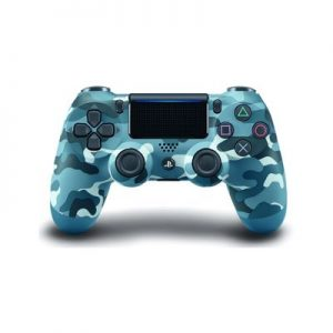 Amzn-PlayStation 4 - Blue Camouflage Cover