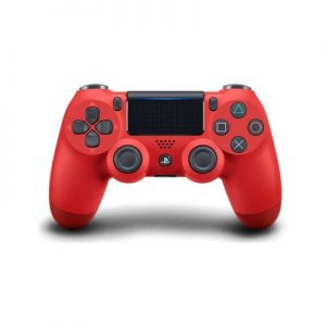 Amzn-PlayStation 4 - Magma Red Cover 2